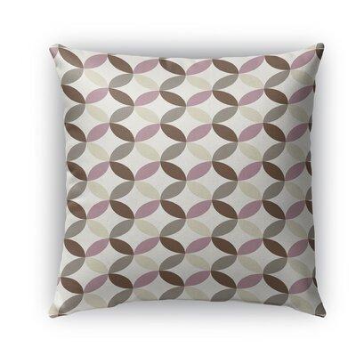 Oasis Burlap Indoor/Outdoor Throw Pillow Size: 26 H x 26 W x 5 D