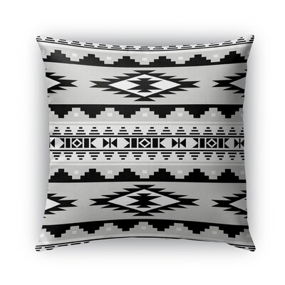 Cherokee Burlap Indoor/Outdoor Throw Pillow Size: 16 H x 16 W x 5 D, Color: Gray