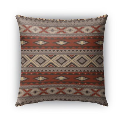 Cabarley Burlap Indoor/Outdoor Throw Pillow Size: 16 H x 16 W x 5 D, Color: Black
