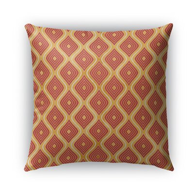 Catania Burlap Indoor/Outdoor Throw Pillow Size: 18 H x 18 W x 5 D