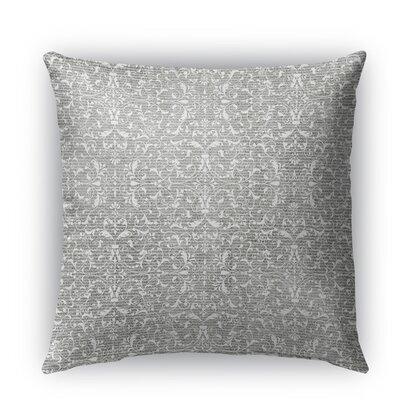 Pamplona Burlap Indoor/Outdoor Throw Pillow Size: 18 H x 18 W x 5 D