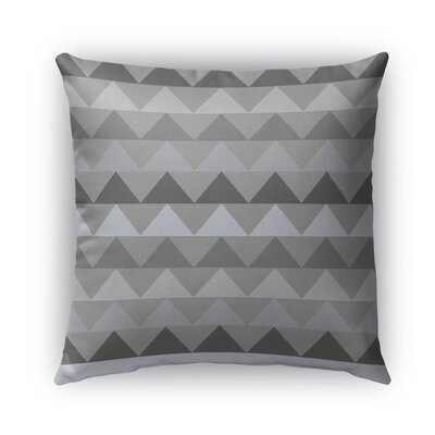 Gavin Burlap Indoor/Outdoor Throw Pillow Color: Gray, Size: 20 H x 20 W x 5 D