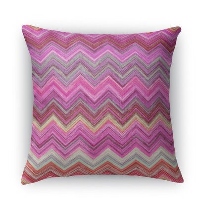 Chevron Throw Pillow Size: 24 H x 24 W X 5 D