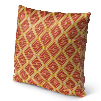Catania Burlap Indoor/Outdoor Pillow Size: 18 H x 18 W x 5 D