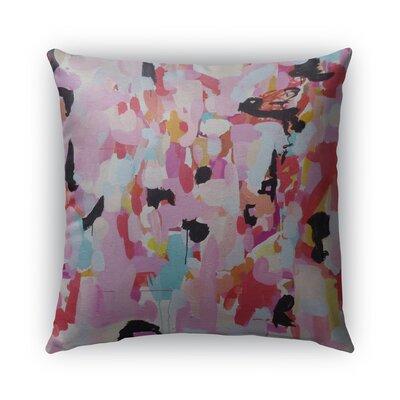 Charm Dripper Burlap Indoor/Outdoor Throw Pillow Size: 26 H x 26 W x 5 D