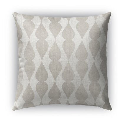 Pisa Burlap Indoor/Outdoor Throw Pillow Size: 18 H x 18 W x 5 D