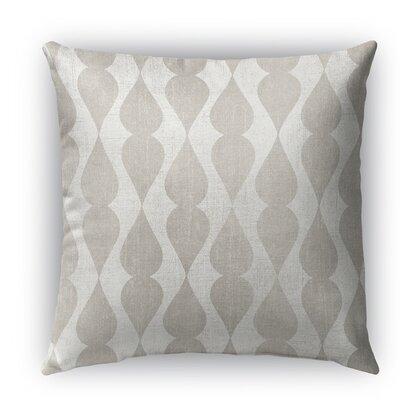 Pisa Burlap Indoor/Outdoor Throw Pillow Size: 26 H x 26 W x 5 D