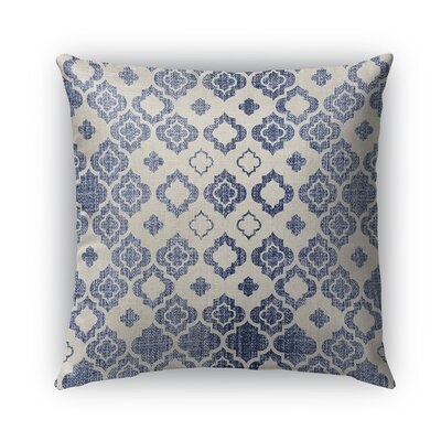 Cagliari Burlap Indoor/Outdoor Throw Pillow Size: 20 H x 20 W x 5 D