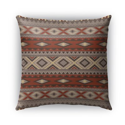 Cabarley Indoor/Outdoor Throw Pillow Size: 18 H x 18 W x 5 D, Color: Black