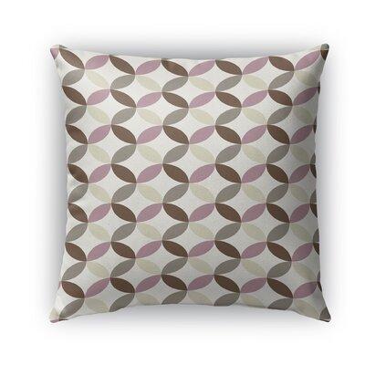 Oasis Burlap Indoor/Outdoor Throw Pillow Size: 16 H x 16 W x 5 D