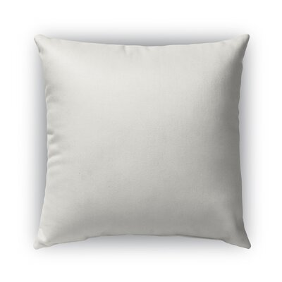 Oasis Burlap Indoor/Outdoor Pillow Size: 18 H x 18 W x 5 D