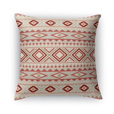 Cabarley Throw Pillow Size: 16 H x 16 W x 5 D, Color: Tan