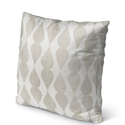 Pisa Burlap Indoor/Outdoor Pillow Size: 26 H x 26 W x 5 D