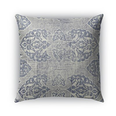 Burgos Burlap Indoor/Outdoor Throw Pillow Size: 16 H x 16 W x 5 D
