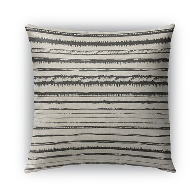Quintana Burlap Indoor/Outdoor Throw Pillow Size: 26