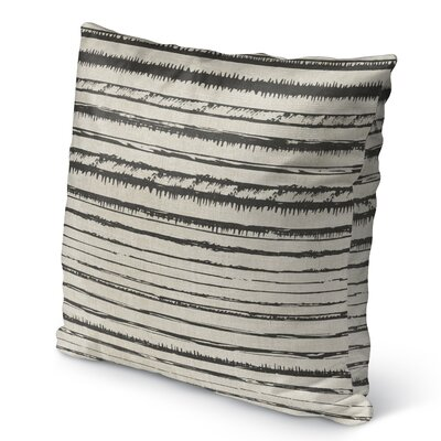 Quintana Burlap Indoor/Outdoor Pillow Size: 16 H x 16 W x 5 D