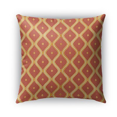 Catania Burlap Indoor/Outdoor Throw Pillow Size: 18 H x 18 W x 5 D