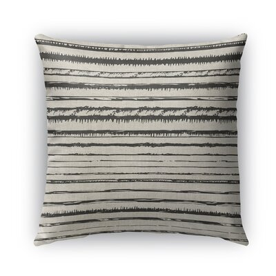 Bolzano Burlap Indoor/Outdoor Throw Pillow Size: 18 H x 18 W x 5 D