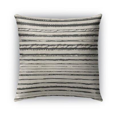 Bolzano Burlap Indoor/Outdoor Throw Pillow Size: 26 H x 26 W x 5 D