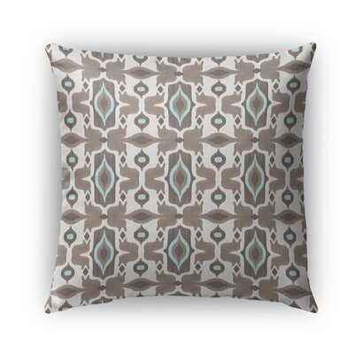 Mojave Burlap Indoor/Outdoor Throw Pillow Size: 16 H x 16 W x 5 D