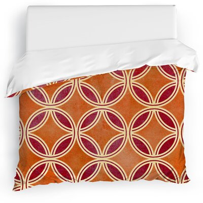 Palm Scope Duvet Cover Size: King