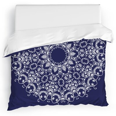 Heena Duvet Cover Size: King