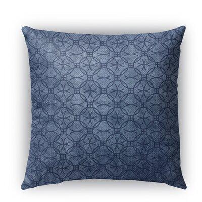 Siena Burlap Indoor/Outdoor Throw Pillow Size: 20 H x 20 W x 5 D