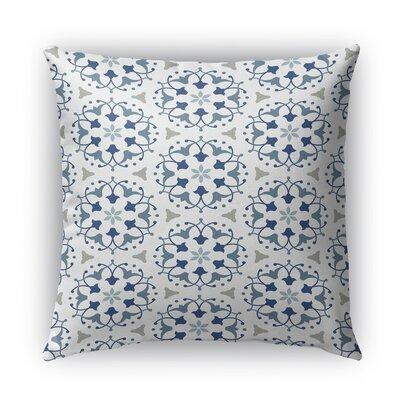 Kaleidoscope Burlap Indoor/Outdoor Throw Pillow Size: 26 H x 26 W x 5 D