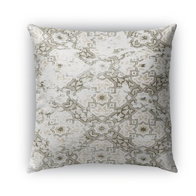 Esther Burlap Indoor/Outdoor Throw Pillow Color: Gray, Size: 18 H x 18 W x 5 D