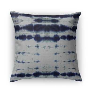 Shibori Stripe Burlap Indoor/Outdoor Throw Pillow Size: 18 H x 18 W x 5 D