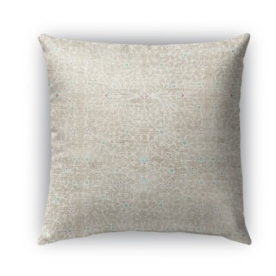 M�laga Burlap Indoor/Outdoor Throw Pillow Size: 26 H x 26 W x 5 D
