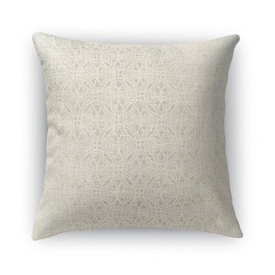 Portici Burlap Throw Pillow Size: 24 H x 24 W x 5 D