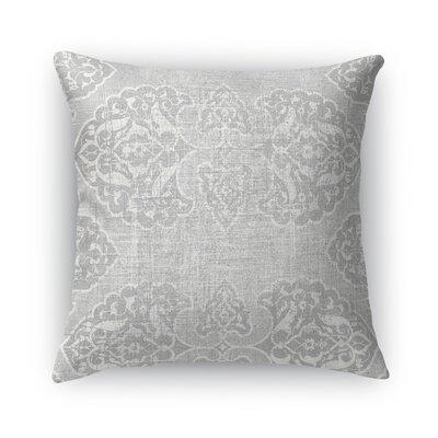 Salamanca Burlap Throw Pillow Size: 24 H x 24 W x 5 D