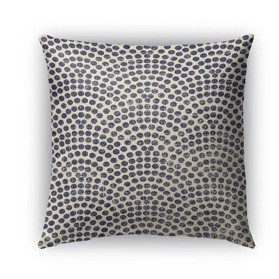 Rio Burlap Indoor/Outdoor Throw Pillow Size: 18 H x 18 W x 5 D