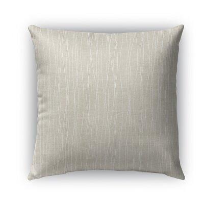 Latina Burlap Indoor/Outdoor Throw Pillow Size: 26 H x 26 W x 5 D