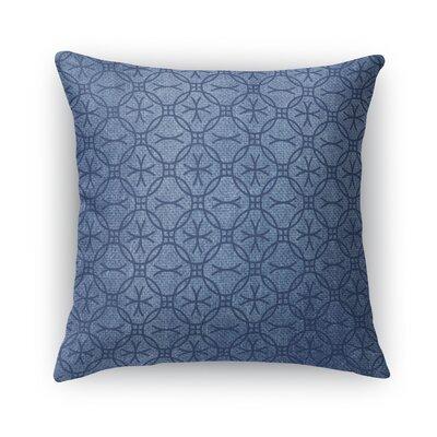 Siena Burlap Throw Pillow Size: 18 H x 18 W x 5 D
