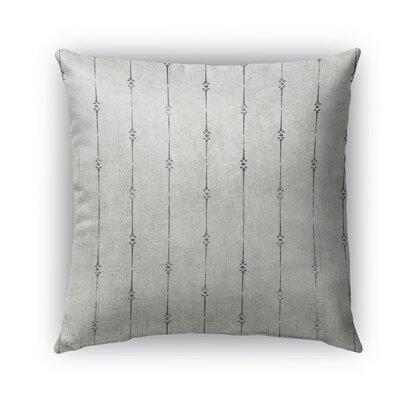 Lineage Burlap Indoor/Outdoor Throw Pillow Size: 16 H x 16 W x 5 D