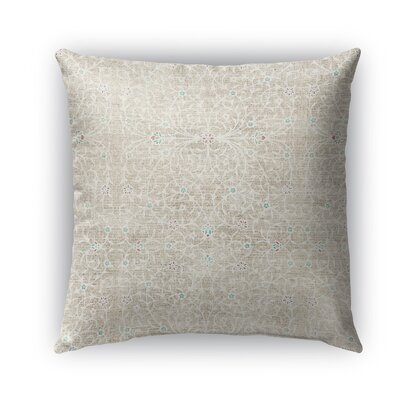 M�laga Burlap Indoor/Outdoor Throw Pillow Size: 18 H x 18 W x 5 D