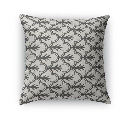 Seville Throw Pillow Color: Black, Size: 24 H x 24 W x 5 D