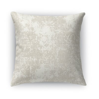 Ravenna Burlap Throw Pillow Size: 16 H x 16 W x 5 D