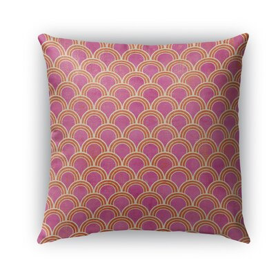 Rimini Burlap Indoor/Outdoor Throw Pillow Size: 26 H x 26 W x 5 D