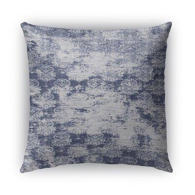 Cataleya Burlap Indoor/Outdoor Throw Pillow Size: 26 H x 26 W x 5 D, Color: Blue