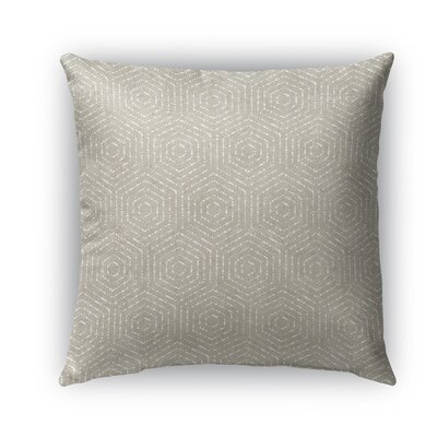 Scandicci Burlap Indoor/Outdoor Throw Pillow Size: 26 H x 26 W x 5 D