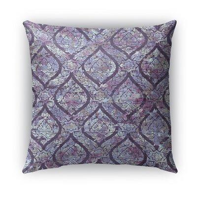 Rain Burlap Indoor/Outdoor Throw Pillow Size: 26 H x 26 W x 5 D