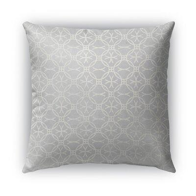 Matera Burlap Indoor/Outdoor Throw Pillow Size: 18 H x 18 W x 5 D