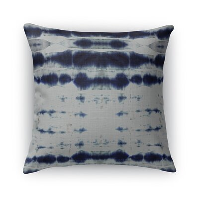 Shibori Stripe Burlap Indoor/Outdoor Throw Pillow Size: 26 H x 26 W x 5 D