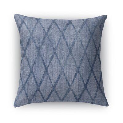 Potenza Burlap Throw Pillow Size: 16 H x 16 W x 5 D