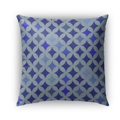 Large Diamond Burlap Indoor/Outdoor Throw Pillow Size: 18 H x 18 W x 5 D