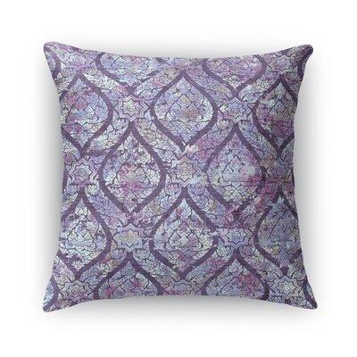 Rain Burlap Throw Pillow Size: 16 H x 16 W x 5 D