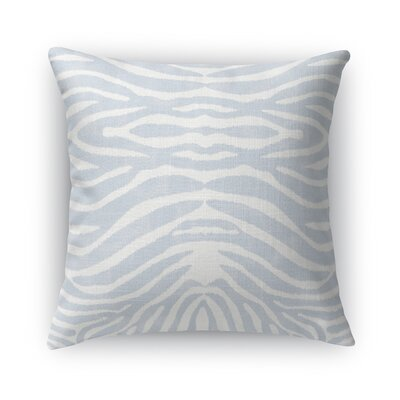 Nerbone Burlap Throw Pillow Size: 16 H x 16 W x 5 D, Color: Blue